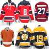 All Teams Ice Hockey Sports Wear for Men Classic Youth Ice Hockey Jersey with Embroidery Logos Size M-3xl.