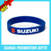 Personalized Silicone Bracelet with Fill Color (TH-band007)