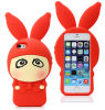 3D Cute Soft Silicone Phone Case for Apple iPhone 5