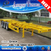 Cheap Price Tri-Axle 40FT Skeletal Container Semi Trailer for Sale, 20feet 40feet Skeleton Trailer