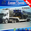 Hydraulic 80 Tons Folding Gooseneck Low Loader, Lowboy Semi Trailer