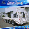 Heavy Duty 4 Axles 80tons Low Bed Semi-Trailer