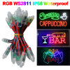 F8 12mm Three-Wire Pixel 2811 1603 1903IC IP67 12V RGB Waterproof LED Pixel Module