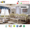 European Antique Furniture L Shape Wood Sofa (HC806)