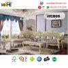 European Antique Furniture L Shape Wood Sofa (HC806)
