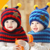 Wholesale Cute Knit Warm Beanie Baby Hats and Scarves