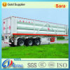 3 Axles CNG Gas Tube Bundle Container Semi Truck Trailer