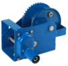 Auto-Brake Winch, 1800lb. Cable/Strap Optional, H-18bssa