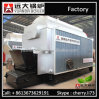 High Efficiency Dzl Coal Wood Fired Chain Grate Steam Boiler