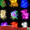 Mult-Color 100 LEDs RGB LED Fairy Lights for Christmas Decoration.
