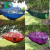 Summer Outdoor Camping Hammock with Mosquito Bug Netting Nylon Hammock