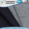 260GSM 100 Cotton Indigo Knitted Denim Waffle Fabric for Garments