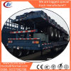3-Axle 11m High Walls Bulk Cargo Semitrailer with Panels Around