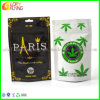 Plastic Tabacco Punching Bags Zip Lock Bag for Mylar Packaging