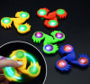 New Toy Fingertip Gyroscope Light Silicone Fidget Spinner Finger Gyroscope