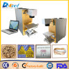 Raycus 20W Fiber Laser Marking Ring/Wood Decoration/Musical Instrument Machine
