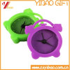 Customizable Nonperishable Lovely Silicone Clock