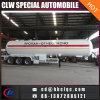 49.6m3 21mt Liquid Gas Tanker Semitrailer LPG Trailer Tank to Kyrghyzstan