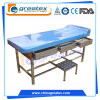 Hospital Furniture Massage Table Ward Room Medical Exam Couch with Pillow (GT-EXC03)