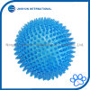TPR Bouncy Floating Teeth Cleaning Spiky Ball Squeaky Toy for Dogs