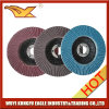 5′′ Aluminium Oxide Flap Abrasive Discs (fibre glass cover 27*14mm)