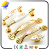 European Style Garden Series of Zinc Alloy Gold Furniture Handle