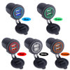 2 Port Power Socket Waterproof Dual USB Car Charger USB