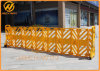 Low MOQ Yellow Foldable Plastic Barrier