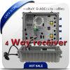 CATV Fiber Optical Receiver/4 Way Bi-Directional Optic Node with Snmp