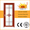 Apartment Aluminum Swing Door with Frosted Glass (SC-AAD054)