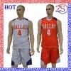 Professional Sportswear Custom Top Quality Reversible Basketball Uniforms