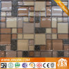 Coffee Color Resin and Glass Mosaic for Hotel Wall (M855080)