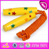 Cute Design Wooden Skipping Rope for Children, Hot Sale Wooden Fitness Handle Speed Jump Rope W01A127