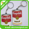 Supply Custom Rubber Soft PVC Keychain (SLF-KC085)