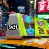 Taxi Top Advertising Acrylic Light Box