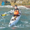 5.0m 1 Person Sit in Professional Pedal Kayak for Long Touring
