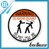 Warning to Avoid Injury Waterproof Adhesive Decorative Sticker
