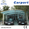 Mobile Polycarbonate 2 Car Carport (B800)