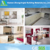 High Polished Kitchen Cabinets with Quartz Countertops From China