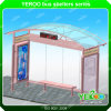 Stainless Steel Bus Stop Shelter Stainless Stop Shelter with Bench