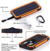 Facyory Orignal 12000mA Dual USB Solar Panel Mobile Power Bank