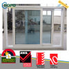 As2047 Australian Standard Double Glazed UPVC Frame Sliding Window