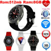 3G WiFi Bluetooth Smart Watch with Heart Rate Monitor (DM368)