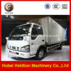 Isuzu Mini Refrigerated Truck for Fresh Vegetable Tranportation
