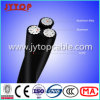 XLPE Insulated Aluminum Overhead Aerial Bundled Triplex ABC Cable