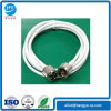 N Male to N Male LMR195 White Cable 2m