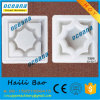 Interlocking Plastic Paver Concrete Hollow Blocks Molds Moulds for Pavement Tiles