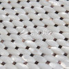 Freshwater Shell Pure White Arch Face Octagon Mosaic Tile