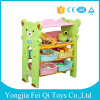 Factory Directly Supply High Quality Pack Frame Plastic Kids Toys Storage Rack Kids Carton Toy Organizer Storage Shelf Storage Rack with Storage Box