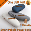 Smart Custom Logo Power Bank 2600mAh for Mobilephone/iPad (YT-PB27-04)